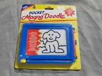 Pocket Magna Doodle Maltafel 1996 - Vintage Tyco Design - Neu & Ovp Moc