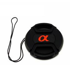 Sony Alpha 49mm Lens Lid Cap 49 MM Incl. Alpha Logo! Novelty