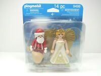 Playmobil 9498 Santa Claus Christmas Angel 14 Pcs Holiday Birthday Toy Gift NEW