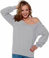 Off The Shoulder Slouchy Sweater Sweatshirt Oversized Sweater Flowy Sexy
