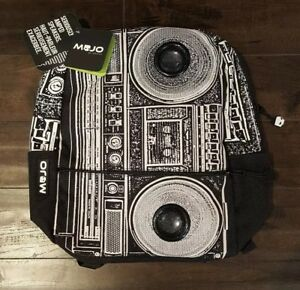 Rare Backpack - Mojo Boombox Masta Blasta O/S  w/ Functioning Speakers - NWT
