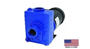 "CENTRIFUGAL PUMP Cast Iron - 2"" Ports - 1.5 Hp - 115/230V - 1 Ph - 6600 GPH"