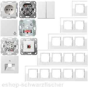 Gira Glasrahmen Esprit Glas weiß / System 55 reinweiß glänzend -Auswahl