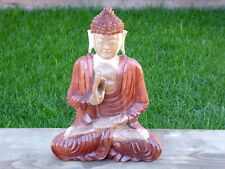 Buddha Carving Hand Carved Wooden Buddha 30cm.....