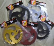 S&M Chain Saw Sprocket Gear for BMX Old Mid School Racing Bike Colors & Sizes