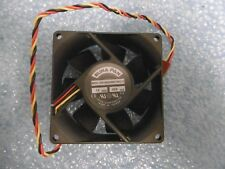 Elina fan 80mm x 25mm kda120825hb6p (- 50a) (-1) 12v DC 220ma 3-pin 24cm Cable