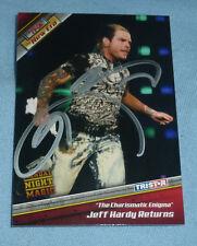 Jeff Hardy Signed 2010 TriStar TNA New Era WWE Card 89 WWE Impact Wrestling Auto