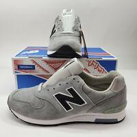 New Balance X J Crew 1400 Mens 11.5 D M1400G Gray Suede Running Shoes Rare Grey