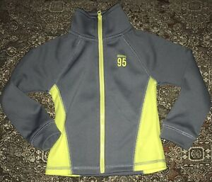 Oshkosh Bigosh Boys Jacket Gray And Yellow Size 2T