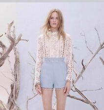 Zimmermann winsome breeze lace blouse size 2