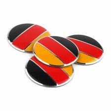 4pcs 56mm Germany German Flag Wheel Center Hub Cap Cover Badge Emblem Sticker