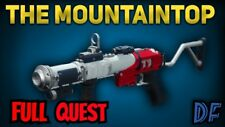 Destiny 2 The mountaintop  full quest and 2100 Glory points Ps4 / Cross Save