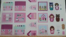 Storybook Lane Kelly Lee Creel Fabric Finger Puppet Applique Craft Panel 24x44