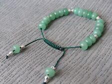 Jade Drawstring Bracelet bq19. Semi Precious Stone