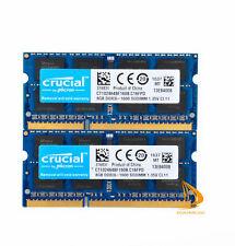 Crucial 16GB 8GB 4GB 2Rx8 PC3L-12800 DDR3-1600Mhz Sodimm RAM SDRAM de memoria portátil