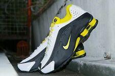 "Scarpe sneakers uomo Nike Shox R4 ""Black Yellow"",vari numeri,104265-048"