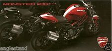 Motorcycle Brochure - Ducati - Monster - 1100 EVO - c2010 (DC285)