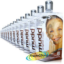 12x Mudd Mud Face Original Mask Pure Clay Formula 50ml