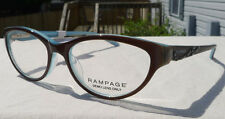 Rampage Eyeglass Frames Women's R178 Brown Blue Glasses Rx-able MSRP $78 B2
