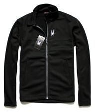 SPYDER Mens Sz XL Black Ryder Full Zip Midlayer Softshell Jacket XL BNWT