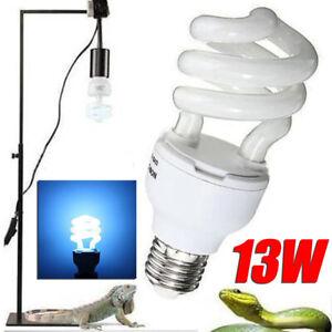 13W 5.0/10.0 UVB Compact Terrarium Wüsten Spar Lampe Licht Reptilienlampe DE