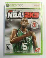 """BRAND NEW"" NBA 2K9 (Microsoft Xbox 360) FACTORY SEALED"
