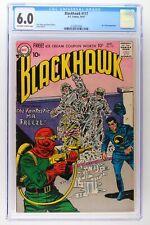 Blackhawk #117 - DC 1957 CGC 6.0 Mr. Freeze Appearance.