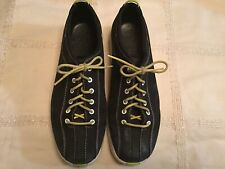 Nike Air Black Suede Shoes Size 8 Womens