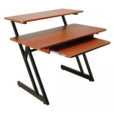 On Stage Wood Workstation WS7500, Rosewood/Black $