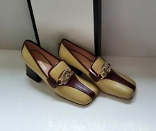 Gucci Zumi leather heels pumps shoes IT 38