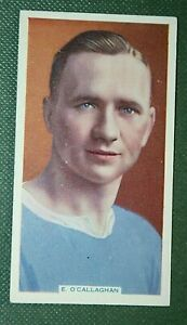 LEICESTER CITY & WALES   O'Callaghan   Original Vintage Football Card