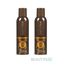 Body Drench Quick Tan Instant Self Tanning Spray Medium Dark 6 oz (Pack of 2)