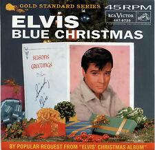"ELVIS PRESLEY  ""BLUE CHRISTMAS""       RED VINYL    LISTEN"