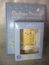 Hallmark Gift Book & Night Light Set Bedtime Stories To Read Together $29.95