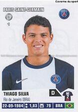 N°323 THIAGO SILVA # BRAZIL PARIS.SG PSG STICKER FOOT 2014 PANINI