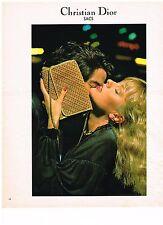 PUBLICITE  1977   DIOR  collection maroquinerie sacs