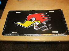 CLAY SMITH  MR HORSEPOWER  LICENSE PLATE IN METAL SHARP LOOKING NHRA SCTA