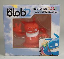 DE BLOB 2 PROMOTIONAL RED FIGURE NINTENDO GAME BOY MISB DEBLOB2 SUPER RARE