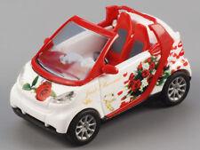 """Busch 99048 Smart Cabrio """"Just Married"""" Sonderserie 250 Stk. limit 1:87 Neu+OVP"""