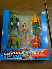 DC DIRECT Justice  League Action Figure Box Set  Brave Bold  NEW FREE SHIP US