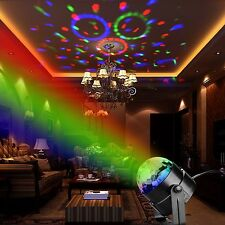 Psychedelic Lamp Light Projector Disco Ball Party Sound Activated (With Remote)