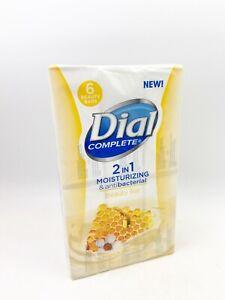 6 Bars Dial Complete 2 in 1 Manuka Honey Moisturizer Antibacterial Beauty Soap
