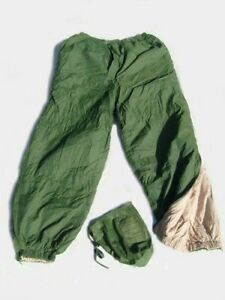 BRITISH ARMY SURPLUS SOFTIE REVERSIBLE TROUSERS - LARGE