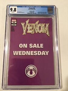 Venom 26 - 2020 - CGC 9.8 - Wednesday Edition