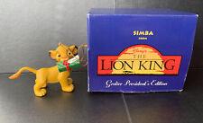 Grolier President's Edition Simba Lion King Christmas Decoration
