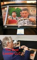 Back To The Future Tom Wilson Biff Signed 11x14 Picture Autograph Beckett PSA