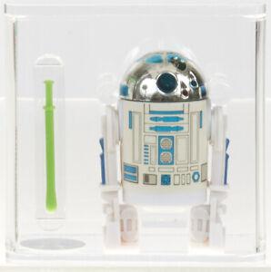 Star Wars 1985 Vintage Kenner R2-D2 Pop-Up Lightsaber (--) Loose Figure AFA 75+