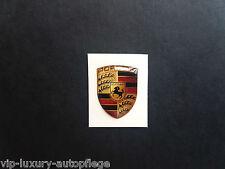 Für 911 Porsche 3D Wappen Aufkleber Stiker Neu in 2,0 x 1,5 cm
