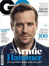 GQ Magazine MEXICO  March 2018 Armie Hammer Call Me by Your Name NEW