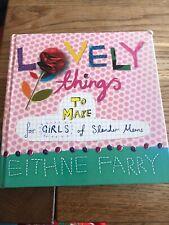 Book Family Lovely things to make for girls boys of slender means